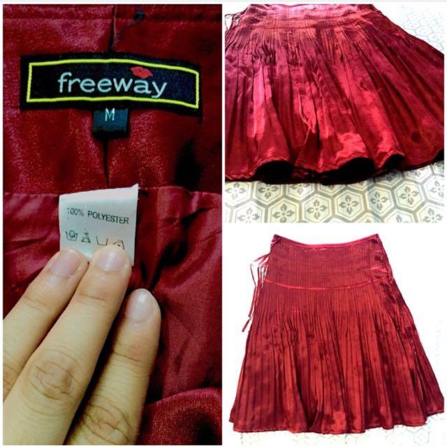 Pleated Princess Skirt