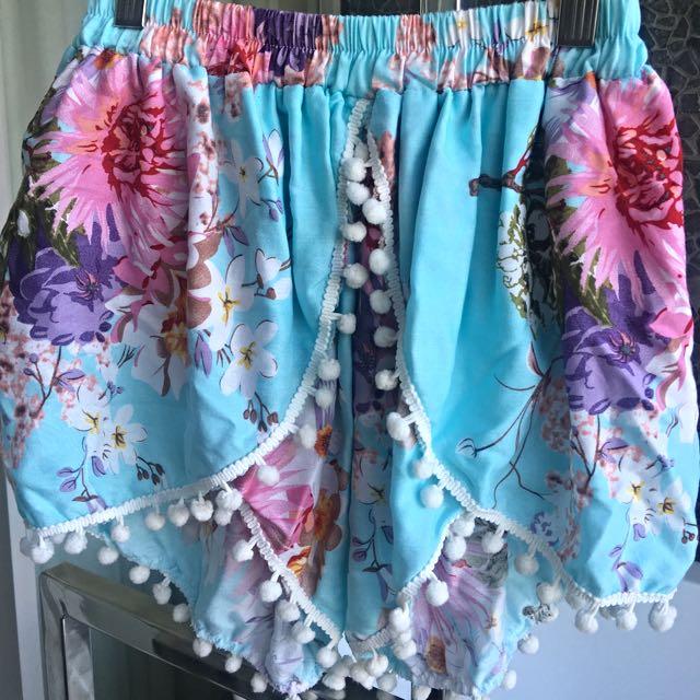 Pompom Shorts For Spring