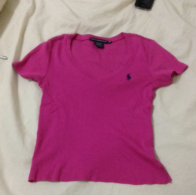Ralph Lauren Cropped T-shirt