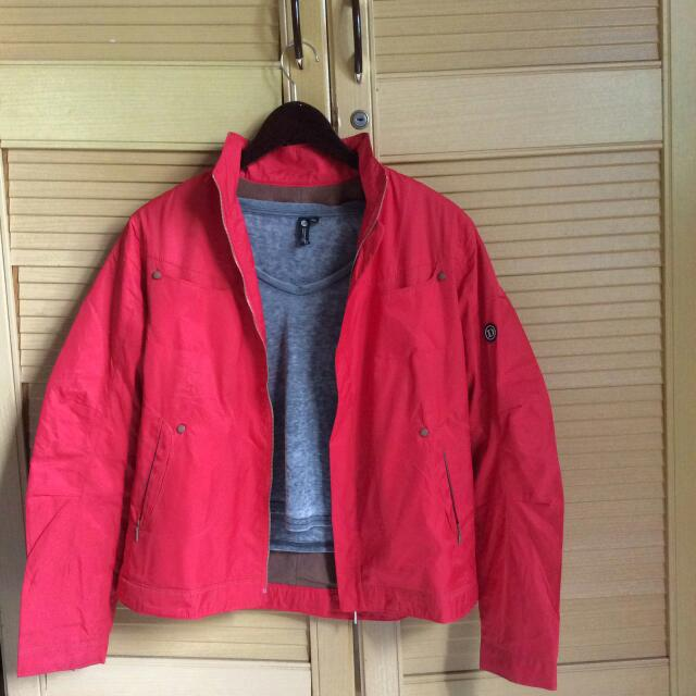 Red Parka Jacket