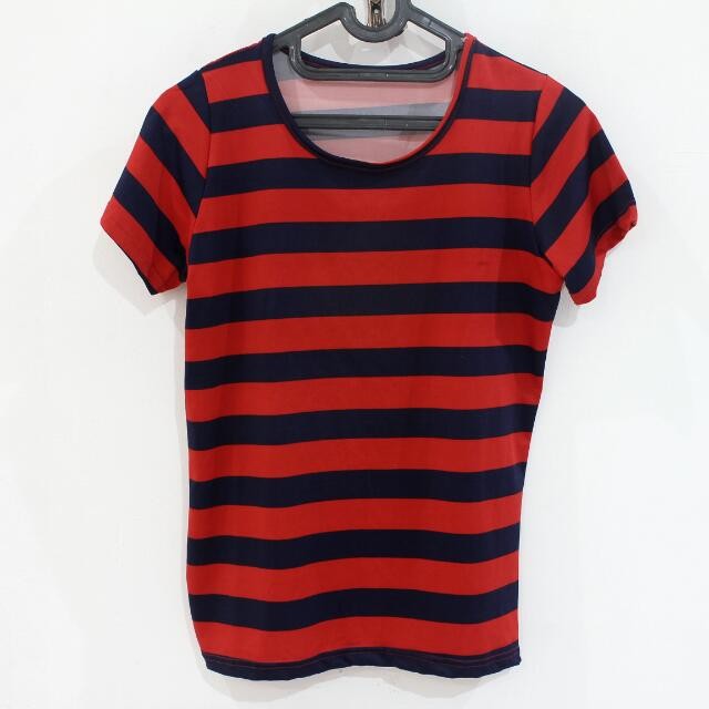 Red-Navy Stripes