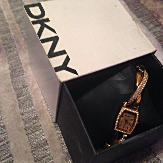 Rose Gold DKNY Ladies Watch