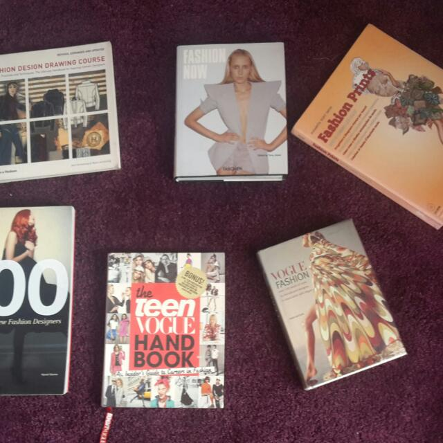 Teen Vogue Handbook, Vogue Fashion, Fashion Now, Fashion Design Drawing Course, 100 New Fashion Designers ( Price per Book)