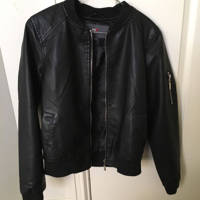 TEMPT Leather Jacket