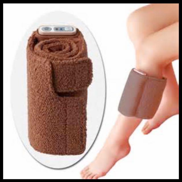 TESCOM美腿舒壓按摩器TF10(咖啡色)
