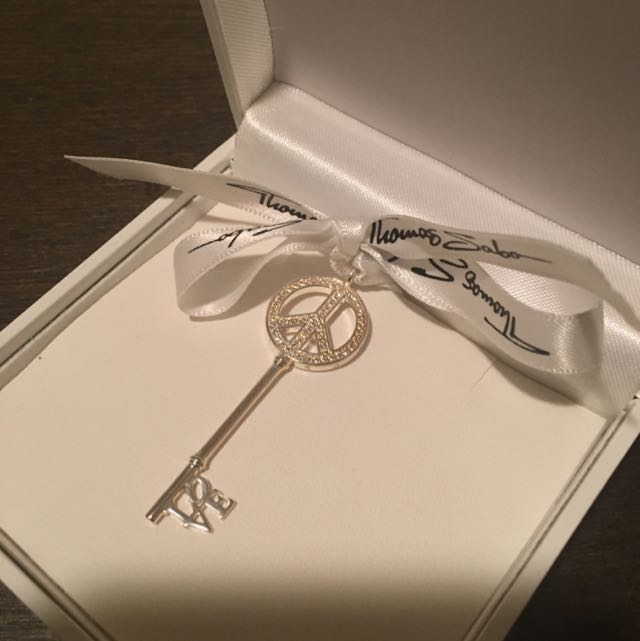 Thomas Sabo Sterling Silver Pendant Key
