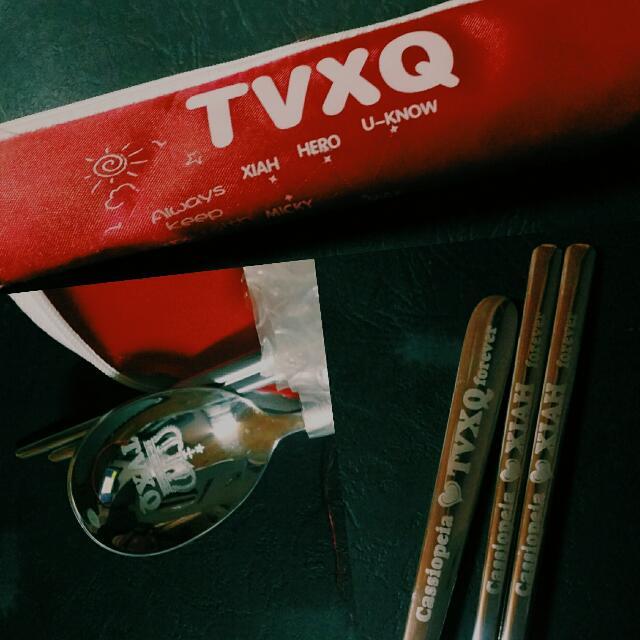 TVXQ Spoon And Chopsticks Set