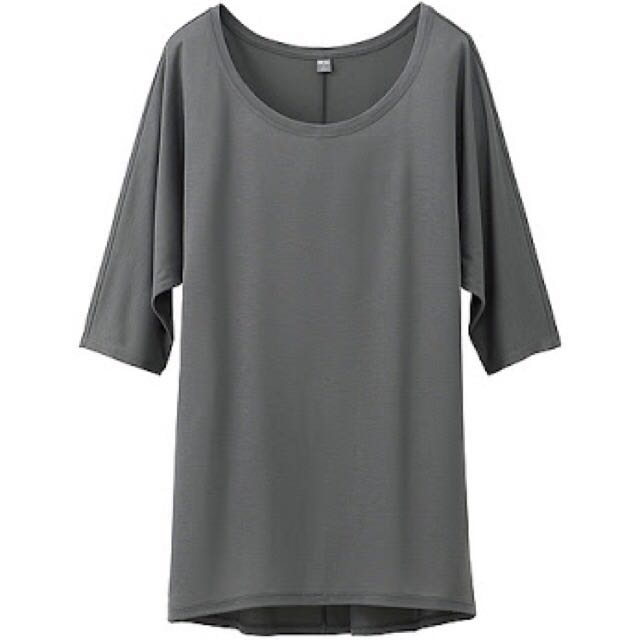 Uniqlo Drape Half Sleeve Tunic