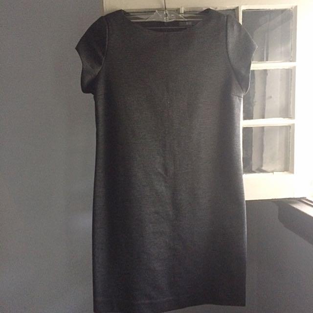 Uni-Qlo Grey Tunic dress