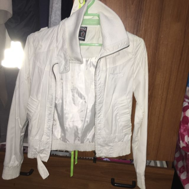 White Lonsdale Jacket