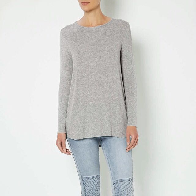 Witchery Grey Top XL