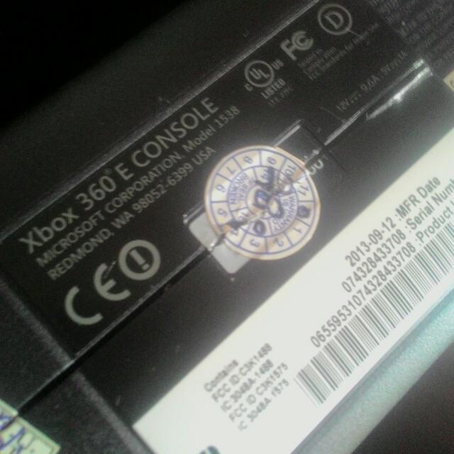 Xbox 360 E Series Console