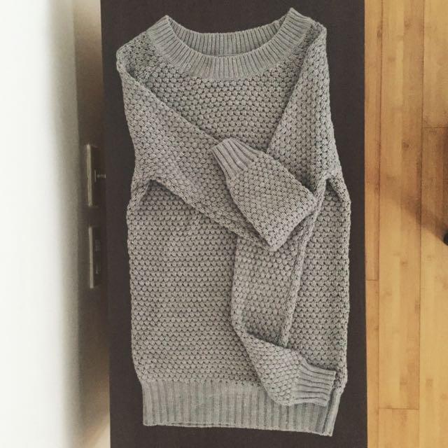 XS Grey Terranova Sweater