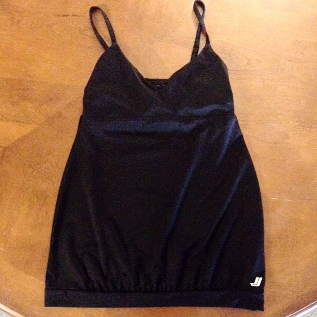 XS Joe Fresh Black Yoga Top