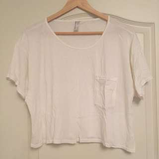 American Apparel Crop Top