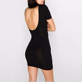 American Apparel Black Bodycon Dress