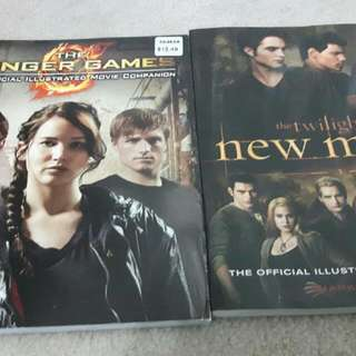 Hunger Games And New Moon Movie Companion