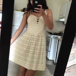 Guess Lace-up Corset Dress