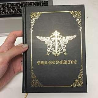 黑執事 彩色直線內頁筆記本 全新!
