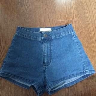 Garage High Wasted Shorts