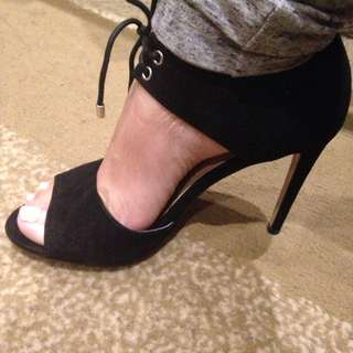 Joe Fresh Black Heels Size 8