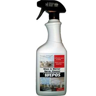 Glass and Mirror Spray Cleaner
