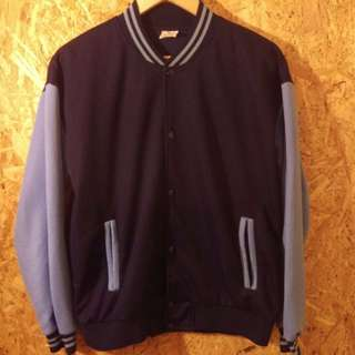 old school track jacket. S