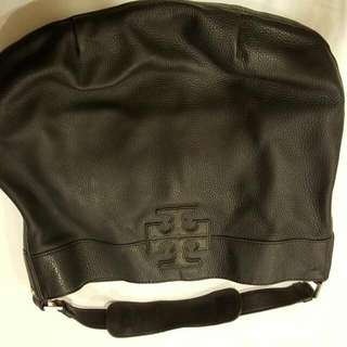 (Reserved) Authentic Tory Burch Black Leather Bag