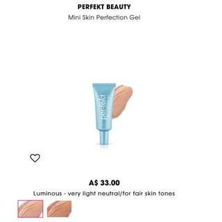 Perfekt, Skin Perfection Gel-luminous