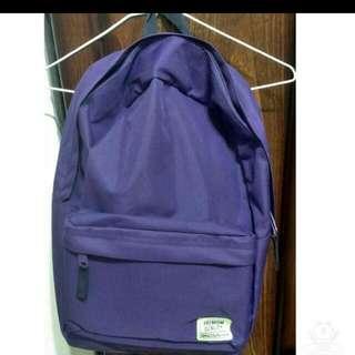 全新SPAO紫色後背包