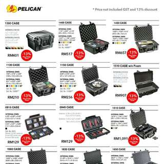 Pelican Cases Promo 13%!!! Pre-order Now