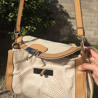 Small Bag With Chain And Long Strap