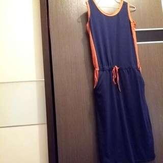 (hold)棉質連身裙