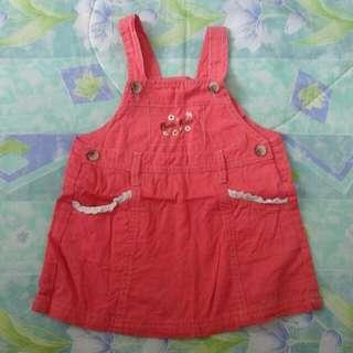 0-6m Baby Kiko Pink Dress