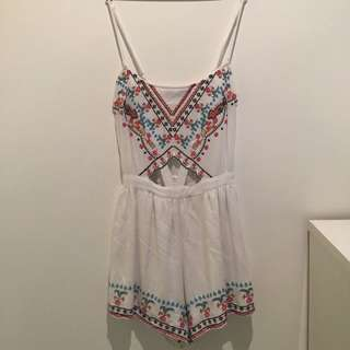 White Playsuit