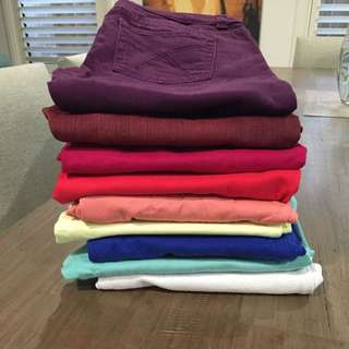 Coloured Jeans $5 Each