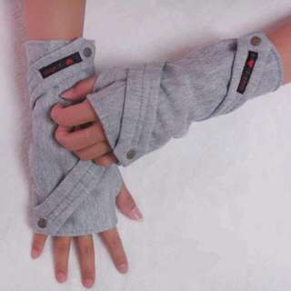 Fingerless Half Gloves With Straps
