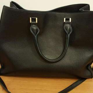H&M Black Leather Bag