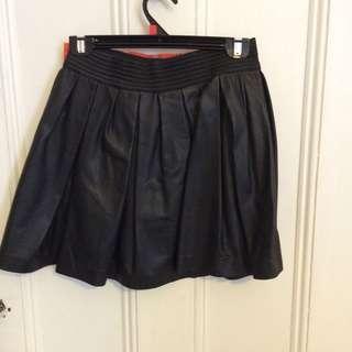 Lambs Leather Skirt