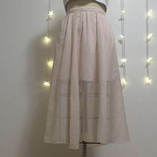 Abercrombie And Fitch Blush Skirt