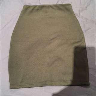 Supre Black Skirt - Small