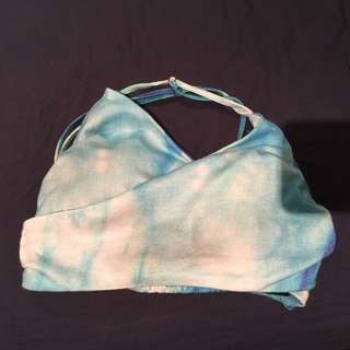 Backless Crop Top - Size 8