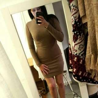 Pending beige Tight Dress Size  M