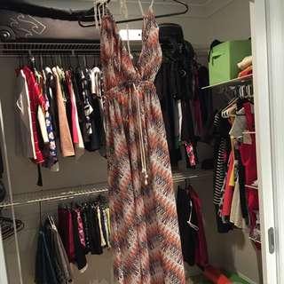 Shareen Maxi Dress - Size 8