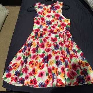 Paperheart Size 8 Floral Dress