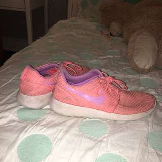 Authentic Pink And Purple Nike Roshes
