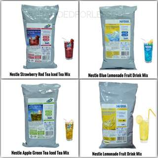 Nestle Fruit Drink and Iced Tea Mix