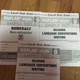 Year 9 NAPLAN Practice Tests