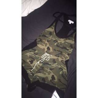 ARMY PLAYSUIT!