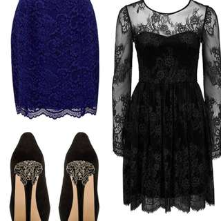 Forever New Black Lace Dress (Tag on)